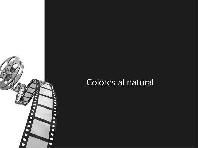 ContarEnBreve: Colores al natural