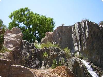 """El Parque Nacional """"El Leoncito"""" es un verdadero oasis sobre el desierto sanjuanino."""