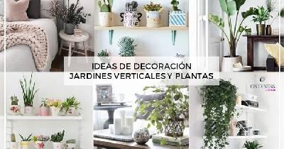 Ideas de decoraci n jardines verticales y plantas for Jardines verticales historia