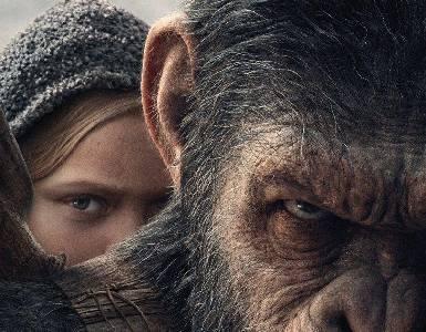 La guerra del planeta de los simios, el horror de la guerra