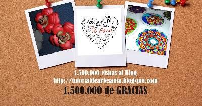 Tutorial de Artesanías: 1,5 Millones de Gracias