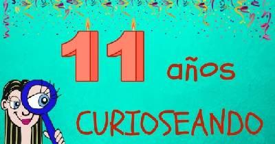 11 años curioseando en mi blog.
