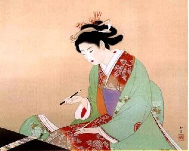 Artistas japonesas: Uemura Shōen - Ret(r)azos