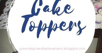 Ysnelda Solano : Bebita Cake Toppers en porcelana fría