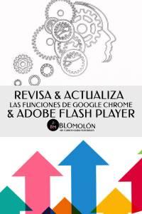 Revisa & Actualiza Las Funciones De Google Chrome & Adobe Flash Player