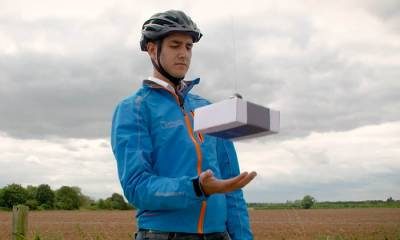 DelivAir, interesante propuesta para el reparto con drones -