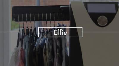 Effie, el robot que te plancha la ropa