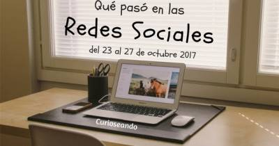 Qué pasó en las Redes Sociales del 23 al 27 de octubre
