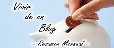 Vivir de un blog - Resumen de octubre 2017