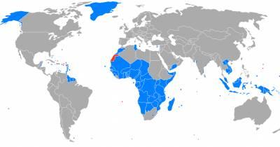 El blog de César MB: Los territorios no autónomos (o colonias) según la ONU