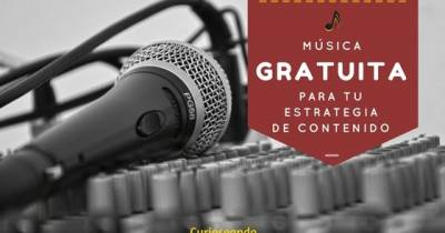 Música gratuita para tu estrategia de contenido