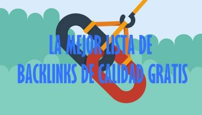 Backlinks de Calidad Gratis ▷ 【Lista 159 ENLACES GRATIS NOV-2017】