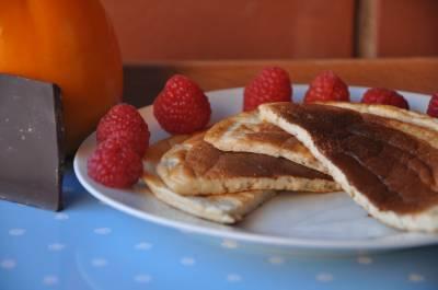 Tortitas sin azúcar. Pancakes - Cocina con Cocinami