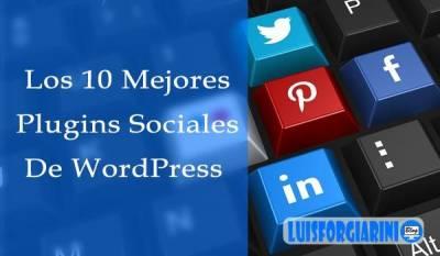 Los 10 Mejores Plugins Sociales De WordPress Gratuitos - 2017