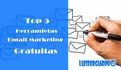 Top 5 Mejores Herramientas de Email Marketing Gratuitas