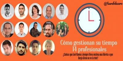 Cómo gestionar el tiempo. 14 profesionales cuentan su día a día