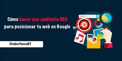 ▷ Cómo hacer auditoria SEO gratis de tu web paso a paso