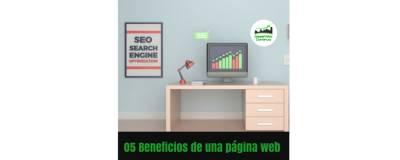 05 Beneficios de una página web - Desarrollo Continuo