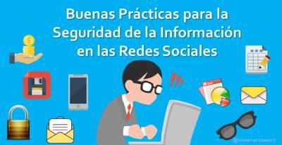 Buenas Prácticas para la Seguridad de la Información en la Gestión de Redes Sociales [Infografía]