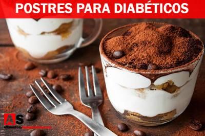Postres Para Diabéticos: 8 Recetas Deliciosas ¡IMPERDIBLE!