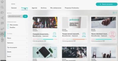 Herramienta avanzada de gesti�n online para marcas con BrandCenter Aggylon