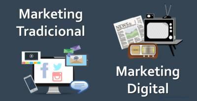 Marketing Tradicional y Marketing Digital: Características y Diferencias [Infografía]