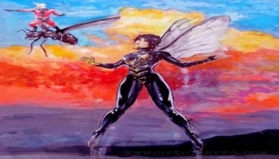 Antes de Ant-Man and The Wasp (2018). Conoce más de los personajes que inspiraron al Hombre Hormiga y a la Avispa