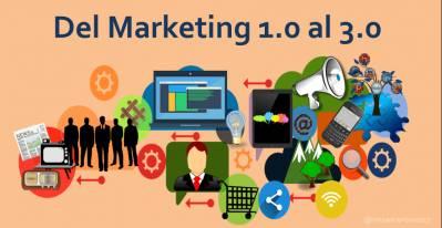 Del Marketing 1. 0 al 3. 0 [Infografía]