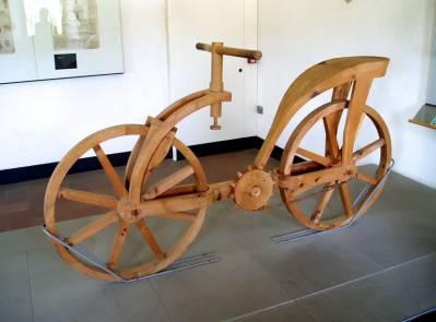 El Hombre de Anchiano: Leonardo NO inventó la bicicleta