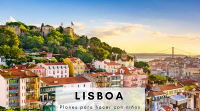 Planes con niños en Lisboa - Con los niños en la mochila