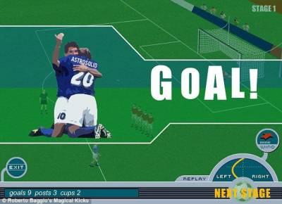✎ Roberto Baggio Magical Kicks 3bde342da048e