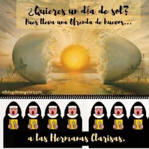 Ofrenda de huevos a las Monjas Clarisas - El Blog de Ángela