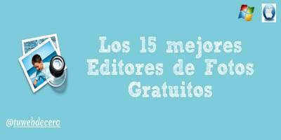 Los 15 mejores Editores de foto profesionales Gratis