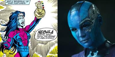 Detalles de Nébula que puede que no supieras. Más de la pirata espacial emparentada con Thanos - DYNAMIC CULTURE