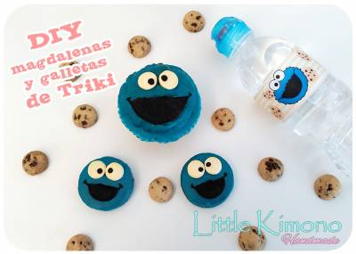 Magdalenas y galletas de Triki