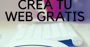 Cómo crear una página web gratis: paso a paso | BloG SEO Web