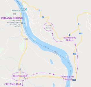 Cruzar la frontera Tailandia Laos por tierra (2018) — FLEA AND ACROBAT