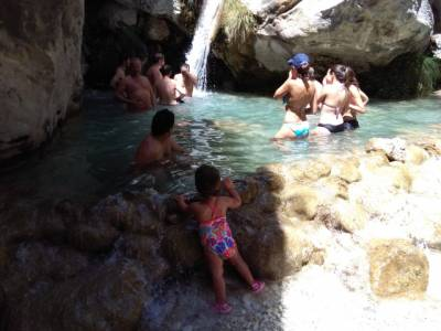 Río Chillar con #niños #Cahorros #Senderismo #Nerja #Malaga – La Cantimplora Aventurera