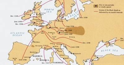 Cuaderno de Historia, J. Ossorio: La gran hambruna (1315-1317) y la peste negra (1346-1351)