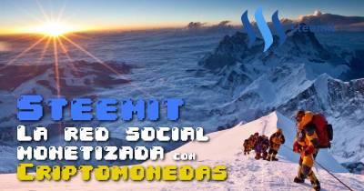 Steemit - La red social que recompensa a los usuarios con criptomonedas