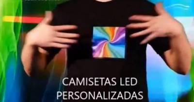 Beneficios de usar camisetas led personalizadas para pequeños negocios