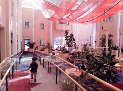 Espacio Abierto Quinta de los Molinos Un espacio de juego gratuito y bajo techo para niños de todas las edades.