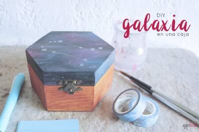 DIY: Galaxia en una caja