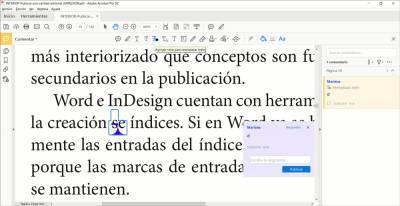 Cómo indicar correcciones en una maqueta de un libro • MarianaEguaras