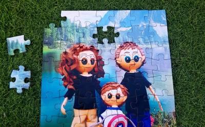 Puzzles personalizados - Regalos Personales - La Mochila de Eric