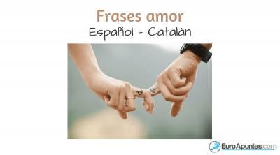 Aprende Catalan Frases Amor Y Relaciones Bloguers Net