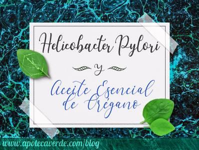 Helicobacter pylori y aceite esencial de orégano - Apoteca Verde
