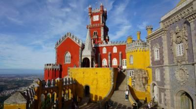 El Palacio da Pena en Sintra, una excursión obligatoria desde Lisboa