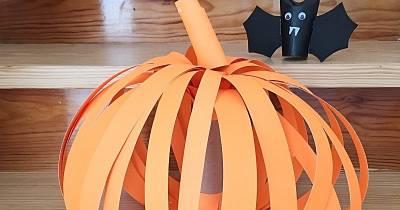 Decoración Para Halloween Con Cartón