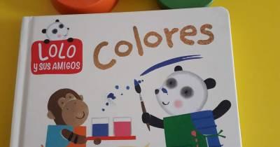 Dulce infancia: Reseña: Colores . Lolo y sus amigos. SM